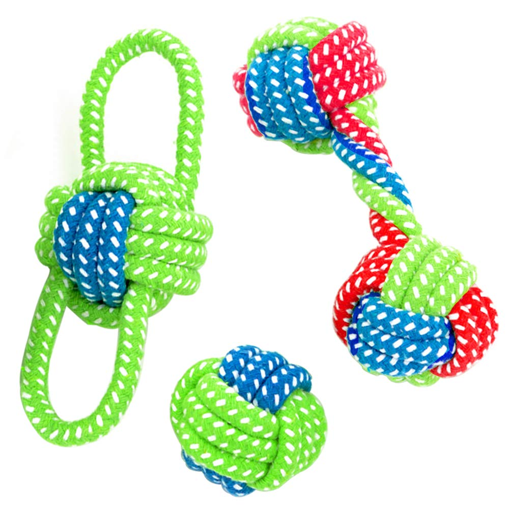 Dog Rope Ball Toy for Aggressive And Excessive Chewers